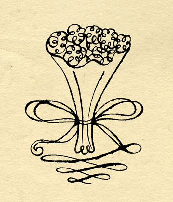 flowers on paper