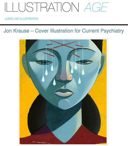 Jon Krause Featured in Illustration Age