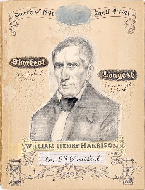 David Fullarton : William Henry Harrison presidential portrait