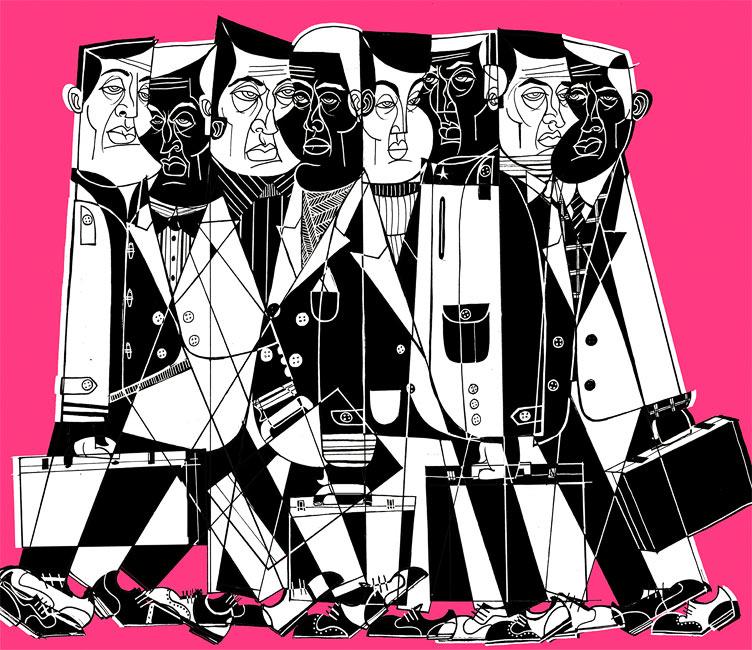 Jason Greenberg Personal Work : Clustered