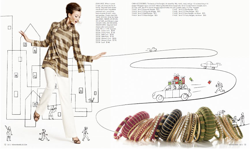 Neiman Marcus Christmas Flip Book : Elvis Swift