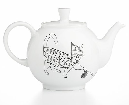 Elvis Swift: June teapot : Crate & Barrel